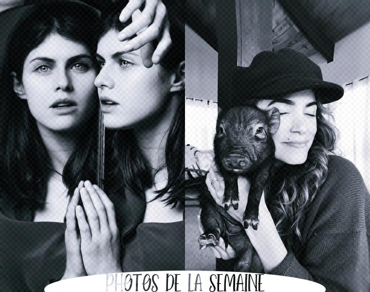 ₪ Photos de la semaine ~ Alexandra & Nikki