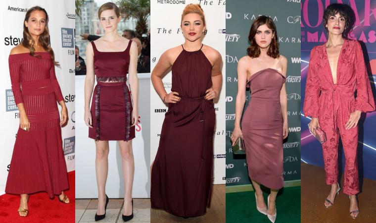 ₪ Sondage #10~ Quelle tenue rouge bordeaux préférez-vous ?