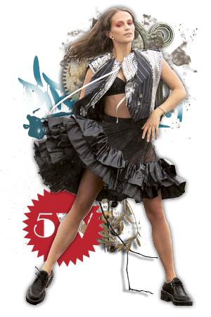 ELLE UK OCTOBRE 2020 - Alicia