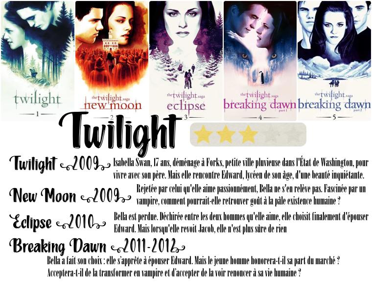 ₪ La médiathèque de 5WOMEN ~ La saga Twilight
