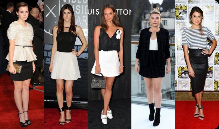 ₪ SONDAGE #7 ~ En noir & blanc, laquelle est la plus classe ?