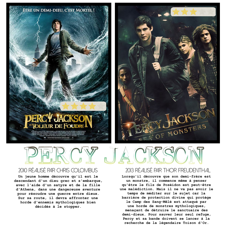 ₪ La Médiathèque de 5Women ~ Percy Jackson