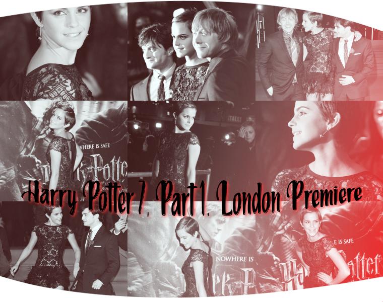 ₪ Flashback du 24.11.2010  ~ HP 7 Part.1 London Premiere