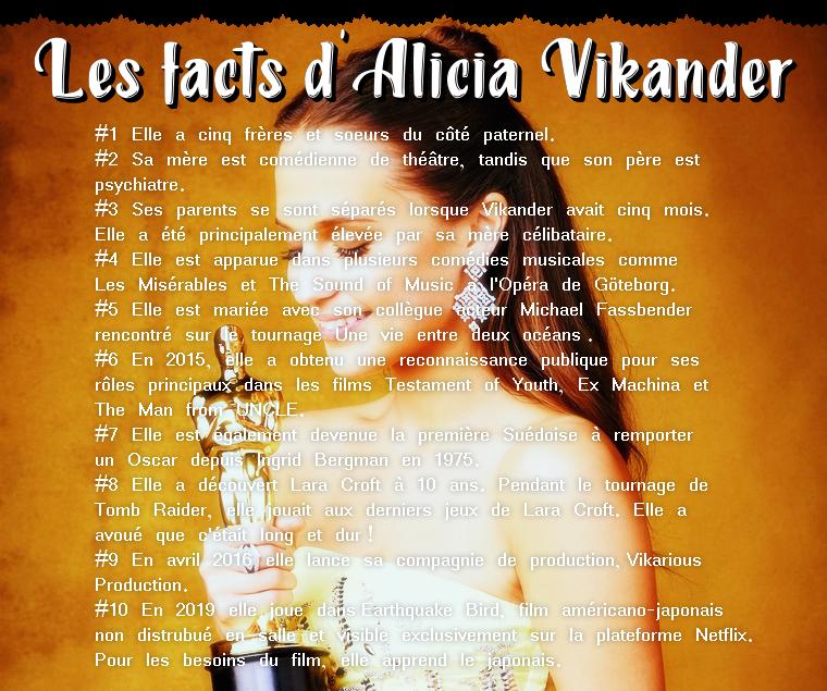 ₪ Les facts des 5W ~ 10 choses à savoir sur Alicia