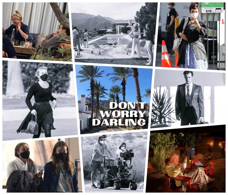 ₪ Don't Worry Darling ~ Photos du tournage
