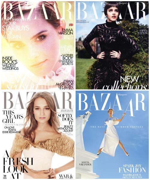 ₪ SONDAGE #17 ~ Quelle couverture Harper's Bazaar préférez-vous ?