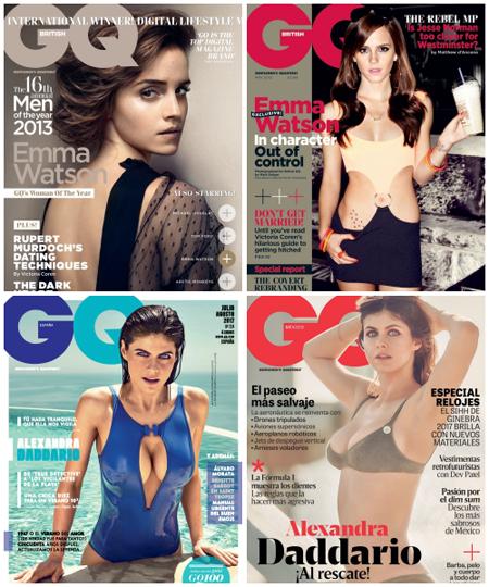 ₪ SONDAGE #16 ~ Quelle couverture GQ préférez-vous ?