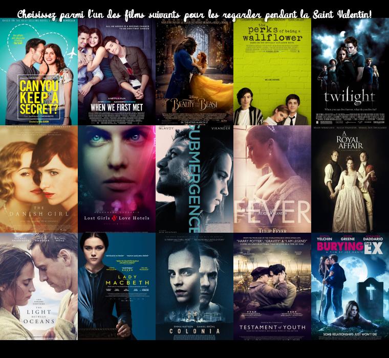 ₪ Les films romantiques