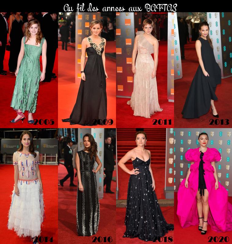 ₪ BAFTAS au fil des années
