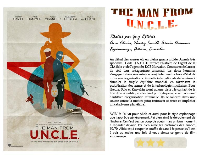 ₪ La Médiathèque de 5Women ~ The Man from U.N.C.L.E.