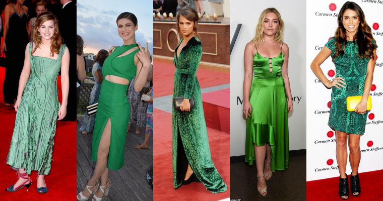 ₪ SONDAGE #19 ~ Quelle robe verte préférez-vous ?