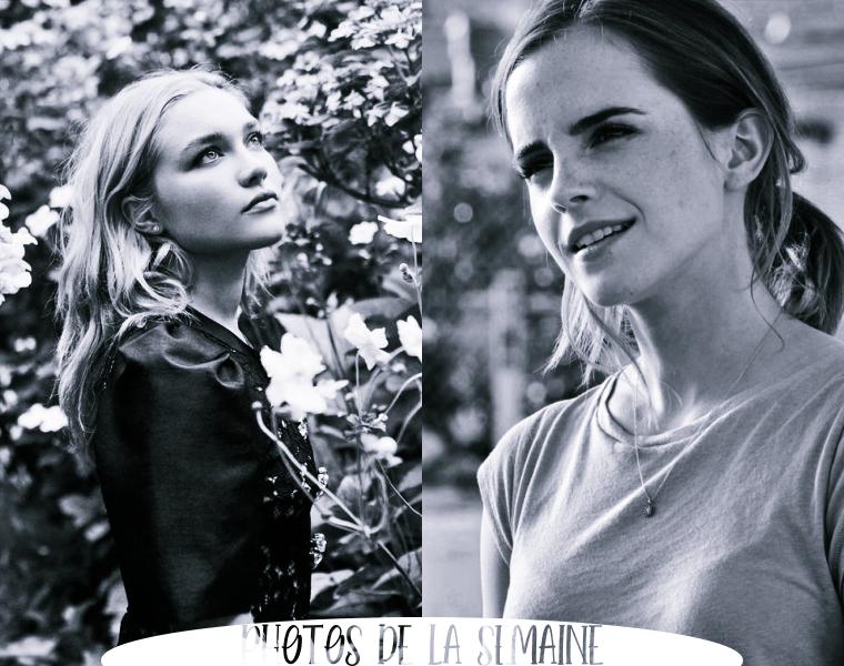 ₪ Photos de la semaine ~ Florence & Emma
