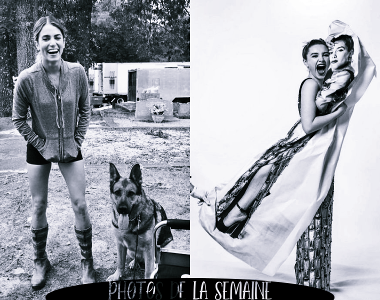 ₪ Photos de la semaine ~ Nikki & Florence