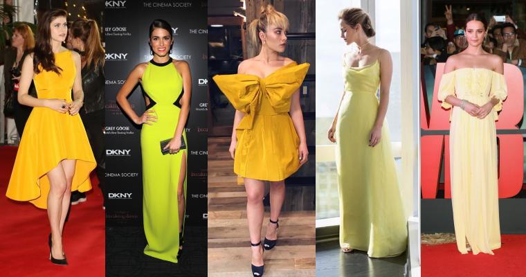 ₪ SONDAGE #20 ~ Quelle robe jaune préférez-vous ?