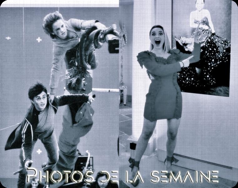 ₪ Photos de la semaine ~ Emma & Florence