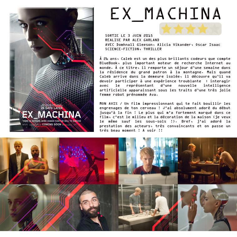 ₪ La Médiathèque de 5Women ~ Ex Machina