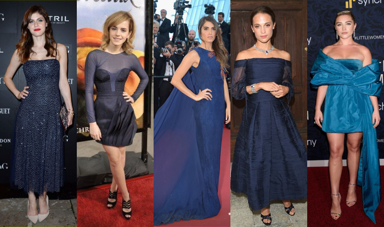₪ SONDAGE #21 ~ Quelle robe bleue préférez-vous ?