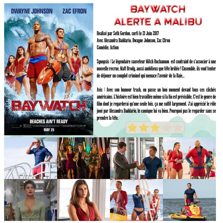 ₪ La Médiathèque de 5Women ~ Baywatch, alerte à Malibu
