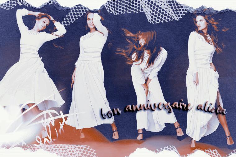 ₪ News du 3 Octobre 2021 ~ Happy Birthday Alicia !!