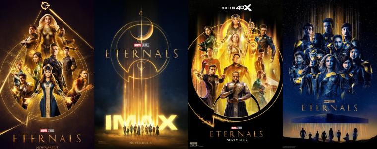 ₪ News du 12 Octobre 2021 ~ La promo Eternals débute maintenant !