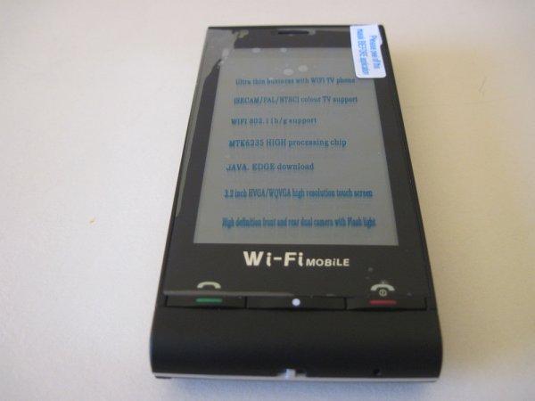 Telephone C5000 double sim tactile wifi neuf