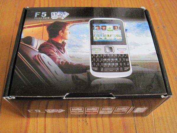 Telephone F5 triple sim neuf    Prix : 75 euros