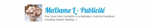 Bienvenue Sur Madame L PuBlicité