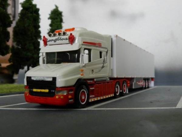 realisation perso : scania T580 Longline