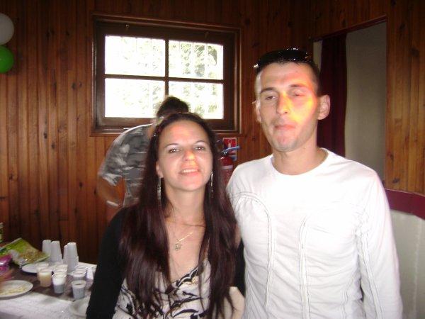 Mon oncle avec sa copine