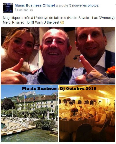 Mariage Annecy Music Business dj