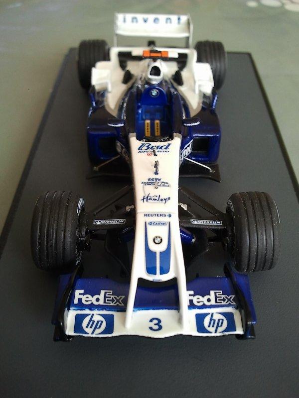 Williams Bmw FW26 silverline 1/43