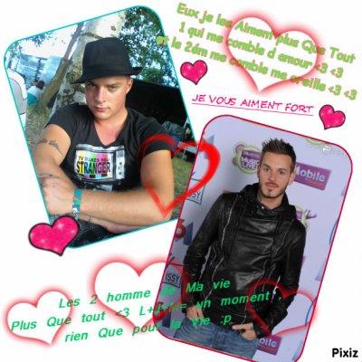 Les 2 homme de ma vie :p ^^