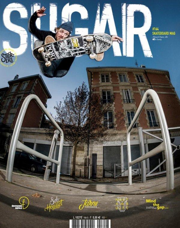 Edouard Depaz / Sugar magazine cover