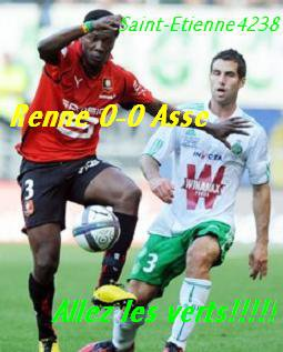 Renne Asse match allé ligue 1 2010-2011