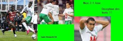Nice 2- 1 Asse match allé 2010/2011