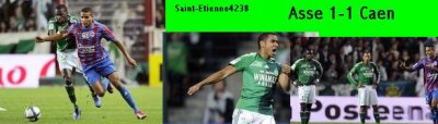 Asse 1-1 Caen 2010-2011 ligue 1 match allé