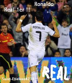 Real Madrid 1er !!!!!!!!!!!!!!