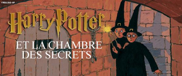 HARRY POTTER ET LA CHAMBRE DES SECRETS : LE LIVRE