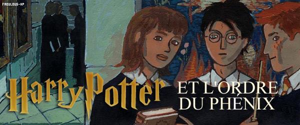 HARRY POTTER ET L'ORDRE DU PHÉNIX : LE LIVRE