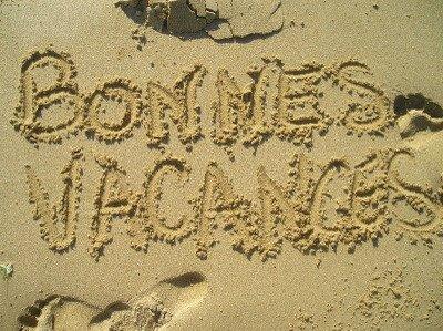 bonnes vacances à tous blogeuses et blogeurs!