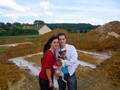 Notre projet commun : La construction d'une maison ♥