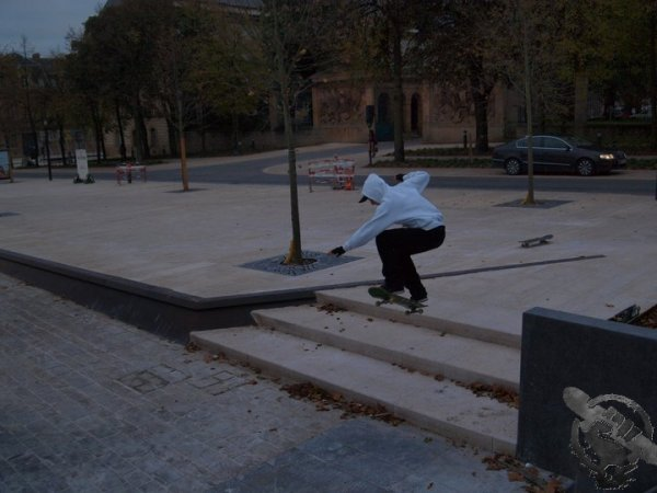 Place de la République à Metz