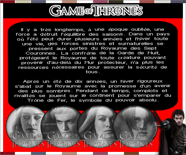 Synopsis Games Of Thrones