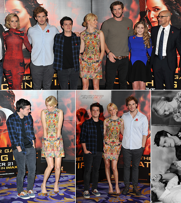 + 2013 || catching fire world premiere.