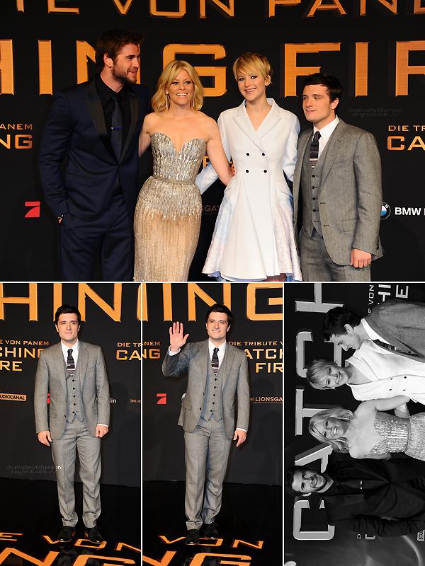+ 2013 || catching fire berlin premiere.