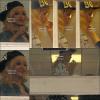 . 29/02/12Rihanna dans les coulisse de l'enregistrement de Jonathan Ross.