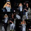 . 01/03/12 : Après son séjour à Londres, Rihanna est de nouveau de retour à Los Angeles puisqu'elle a été photographiée en compagnie de Melissa à l'aéroport « LAX ».+ Rihanna n'a pas changée ses habitudes elle est allée dîner au restaurant « Giorgio Baldi »