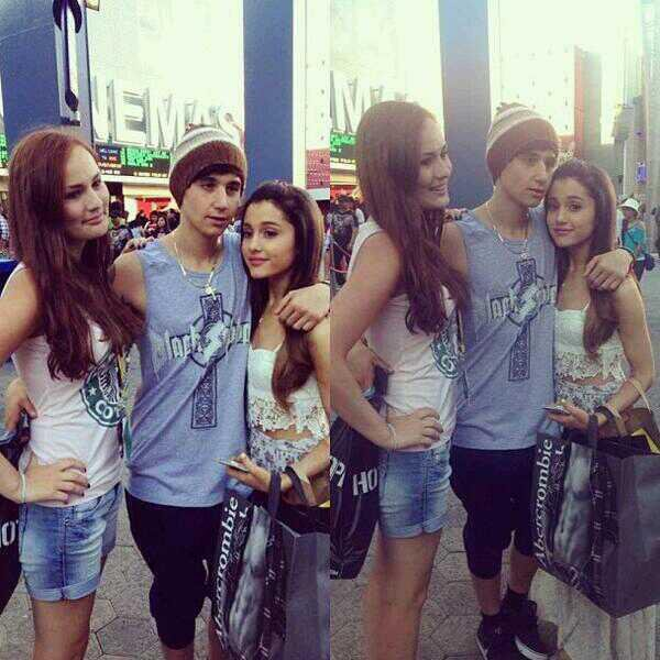 27/07/2013 - Une nouvelle photo de Daniel & Beau en soirée à Melbourne + Jai et Ariana Grande à LA