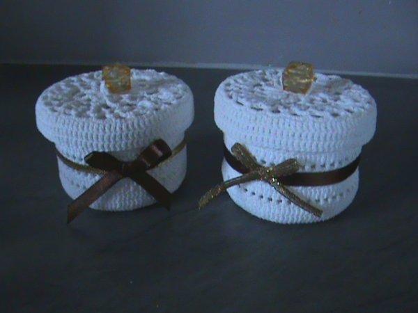 Commande de Chantal (bonbonniéres, coupelles,porte bougie et petits panniers)