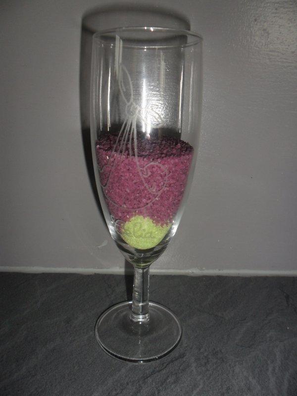 verre gravé